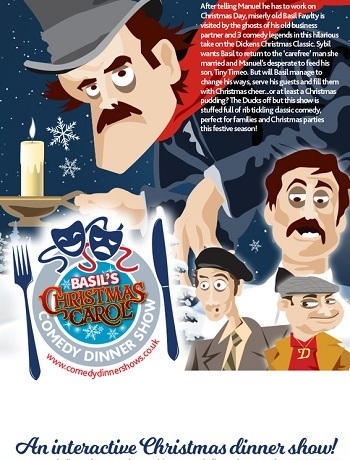 Fawlty Towers Christmas Carol Dinner Show