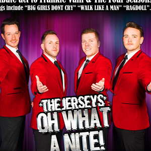 The Jersey Boys and Dinner 2nd Sep 2018